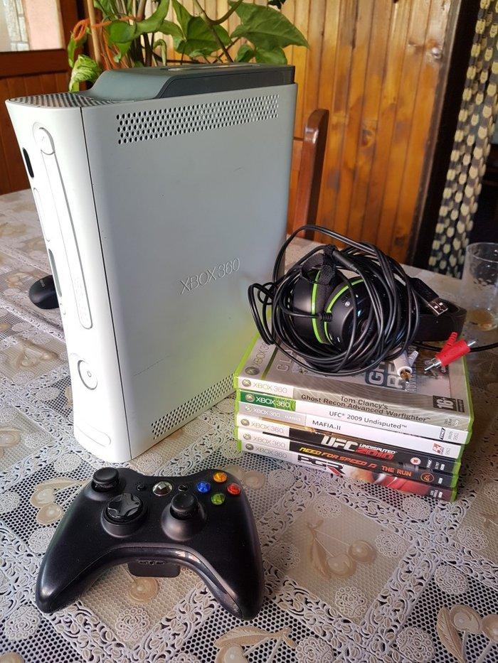 Xbox360 60gb sa pratecom opremom + memorijska kartica 256mb - Kraljevo