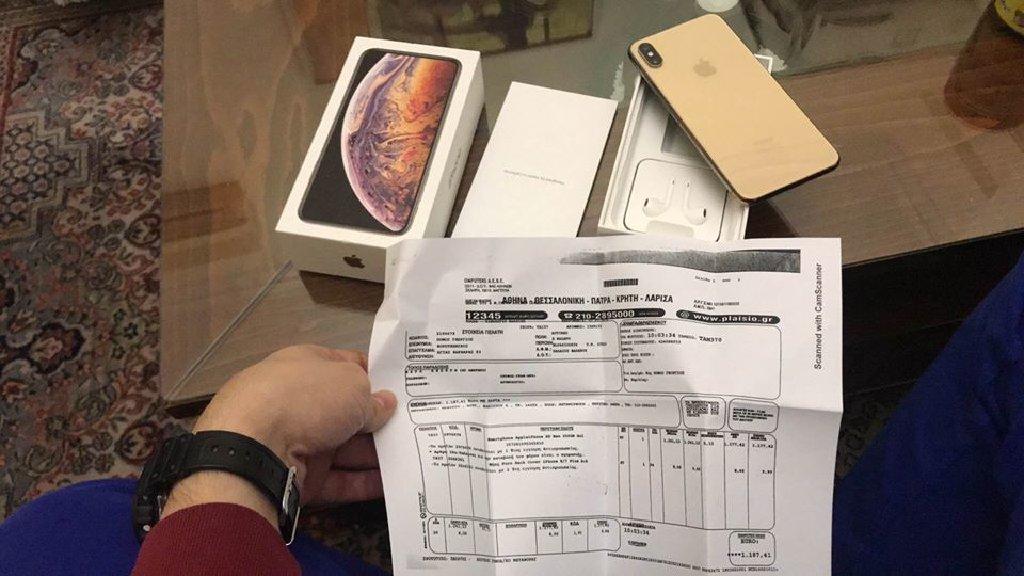 IPhone XS MAX GOLD 256gb   ΑΨΟΓΟ- ΜΕ ΕΓΓΥΗΣΗ 1 χρόνο ακόμα