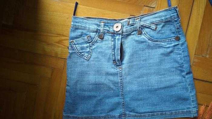 Mini teksas suknjica,velicina S,potpuno nova. lepaaa - Batocina