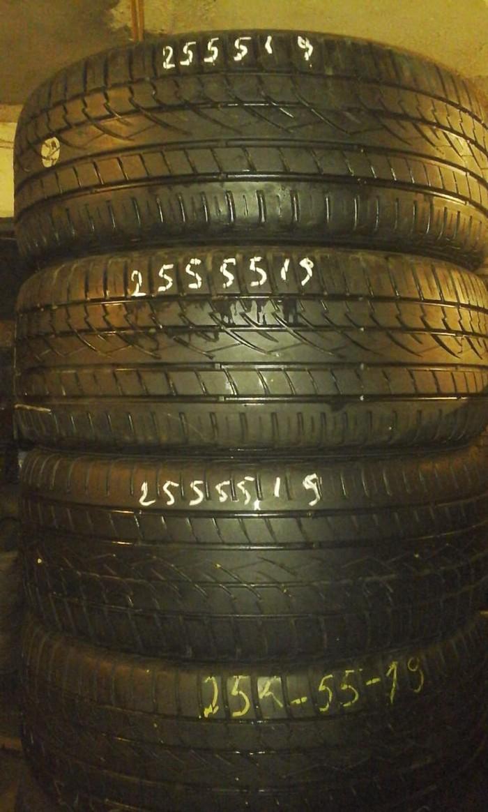 255/55/19 Az islenmis Alman tekerleri yaxsi veziyetde . Photo 0