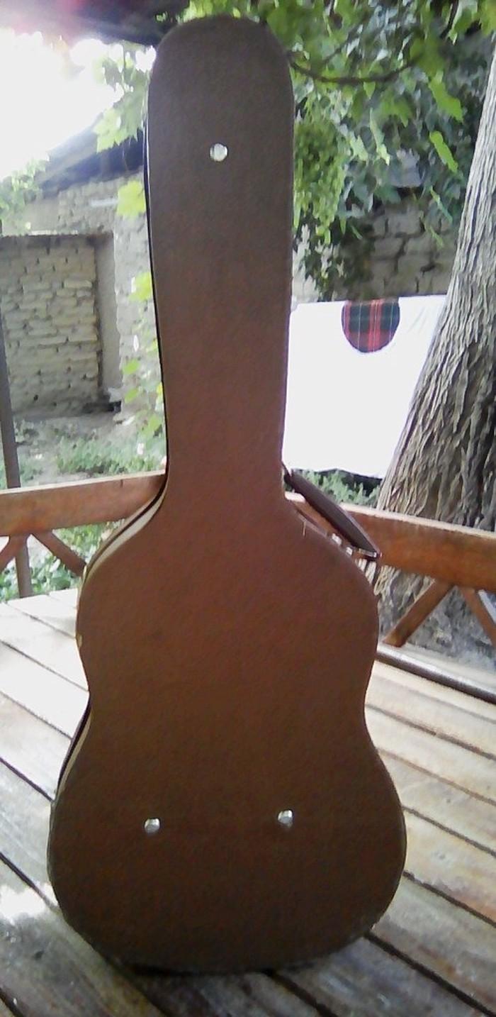 Жесткий футляр (кейс) для гитары. Производство СССР. Размер 3/4. . Photo 1