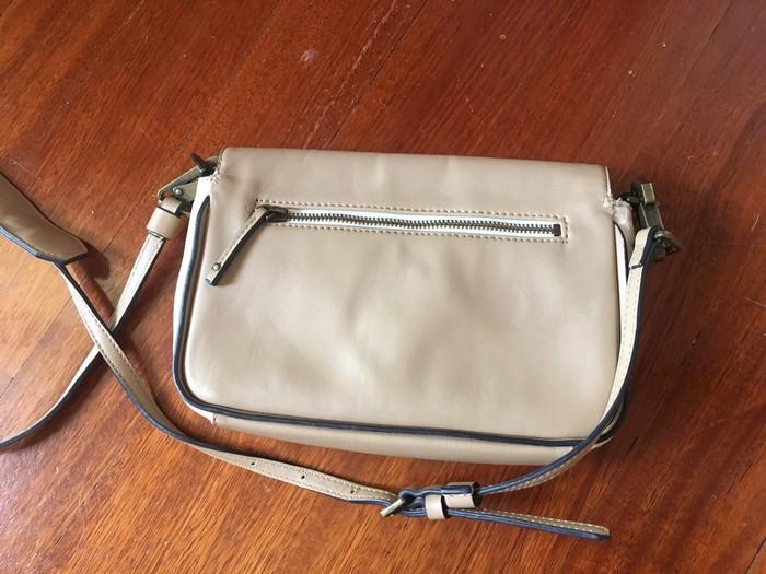 Τσάντα αυθεντική δερμάτινη Calvin Klein . Photo 4