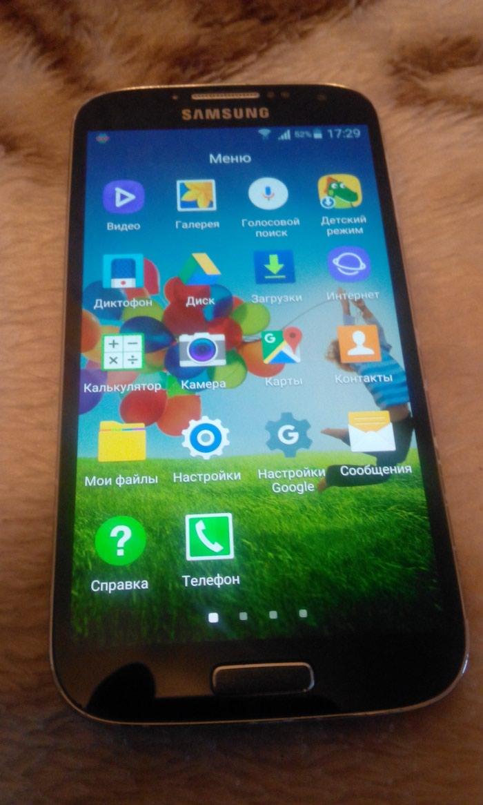 İşlənmiş Samsung Galaxy S4 16 GB qara. Photo 2