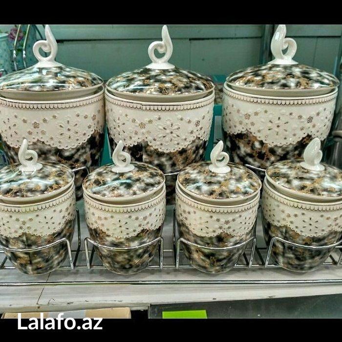 Bakı şəhərində Keramik edava qabi. Basqa risumkalarda var. Dest 45 azn