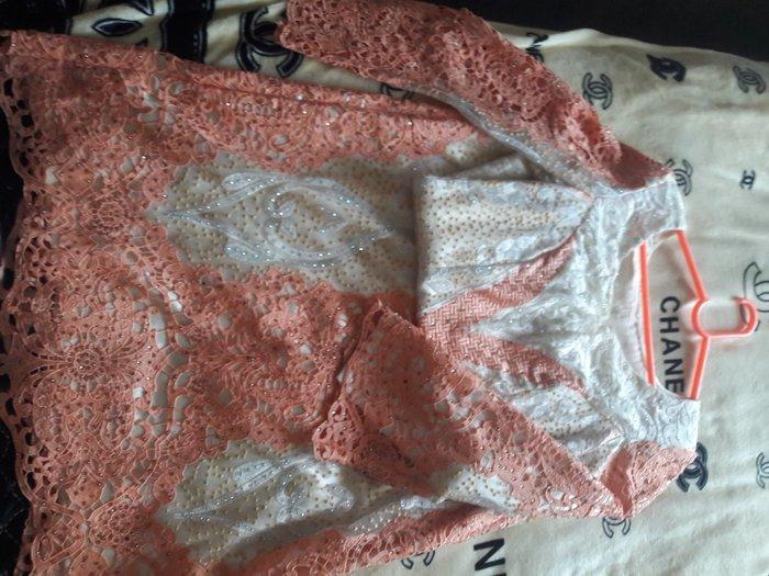 Платье длинное из дубайской ткани одевали 1 раз . Photo 0