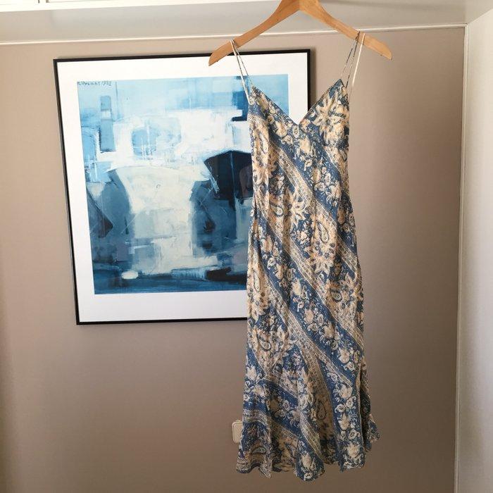 Αυθεντικό Ralph Lauren αμάνικο, μεταξωτό,maxi. Photo 1