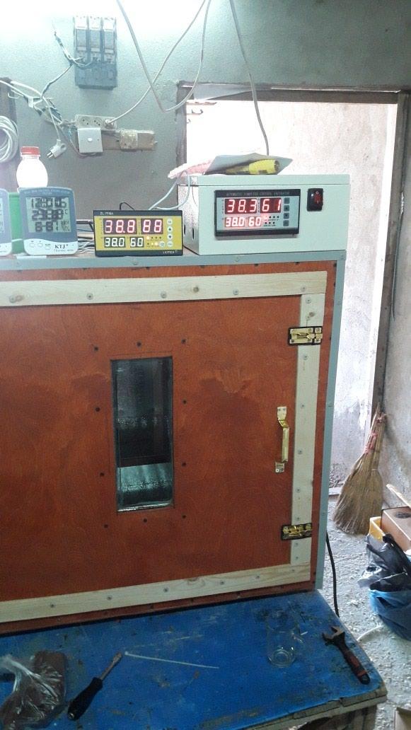 Inkubatorlarin sifarisi. tam avtomatik is rejiminde isleyir. Photo 1