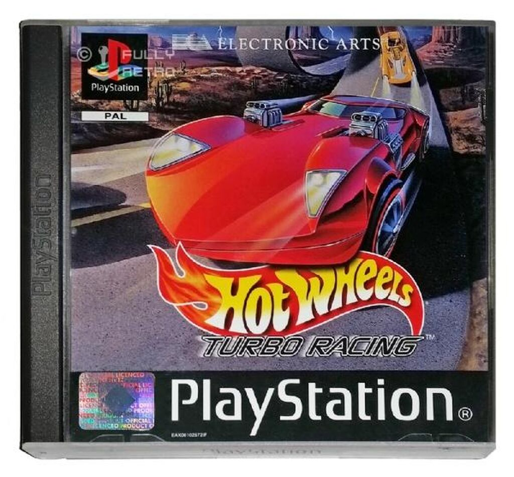 Turbo hot wheels for PlayStation1 and PlayStation2 (chip) / the best game!! Racing TURBO hot  wheels