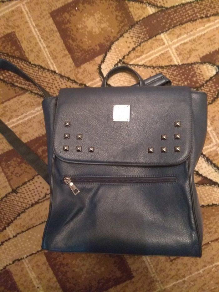 a2e6c7aa68b3 Синяя сумка, новая сумка, ни разу не, цена  400 KGS - Сумки в Бишкеке