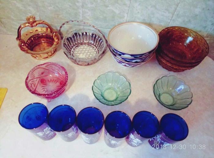 Продаю новые в наборе стаканы 6 штук за 350 сом. Звонить по телефону. Photo 1