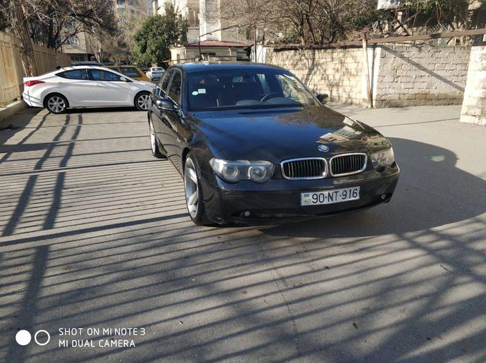 Bakı şəhərində BMW 745 2002