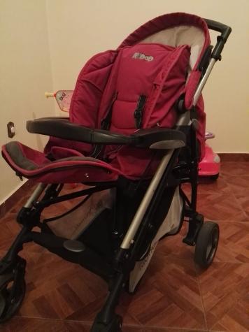 Καροτσι Kiddosmart 3 σε 1 σε αριστη κατασταση με πορτ-μπεμπε και παιδικο καθισμα αυτοκινητου