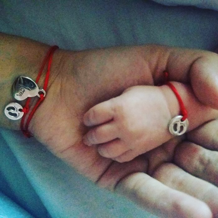 Komplet narukvice za mamu i bebu. Photo 0