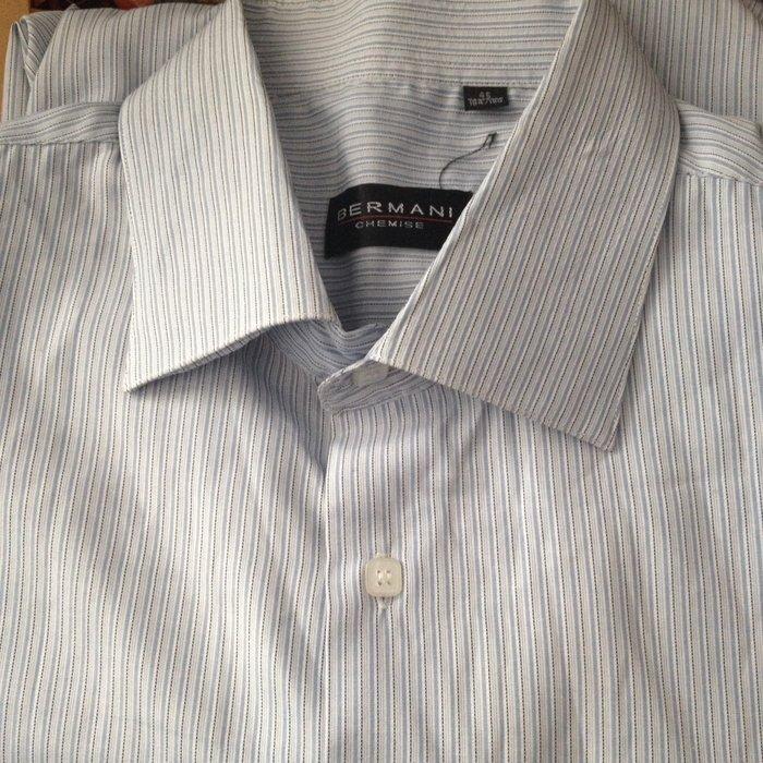 0826d32c869b770 Рубашка мужская, новая без упаковки, с длинным рукавом, ворот 45 ...