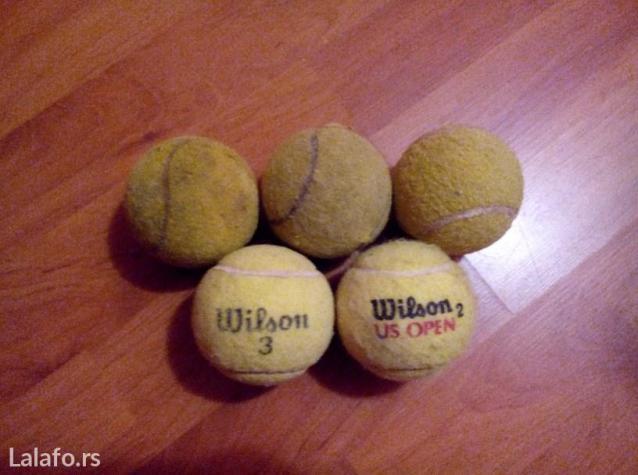 Teniske loptice 5 komada - Indija