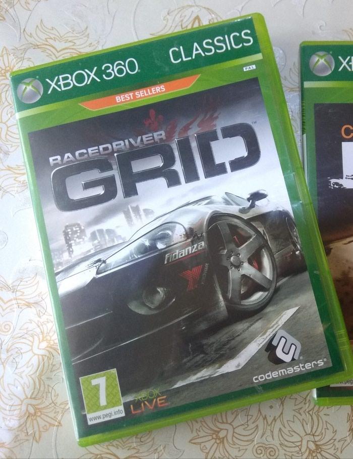 Xbox 360 ucun Grid oyunu, disk orijinaldir.. Photo 0