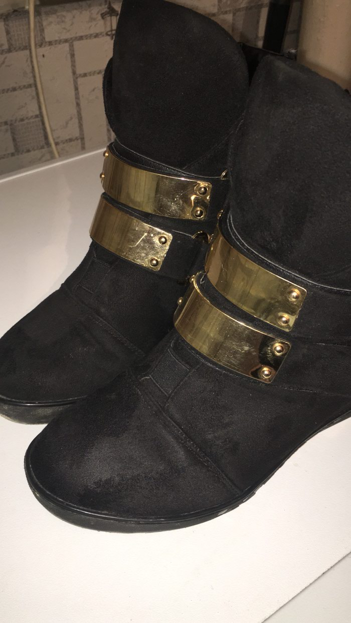 e93165a7e05 Продаю ботинки обувала пару раз . Осень - зима . Размер 38 за 500 ...