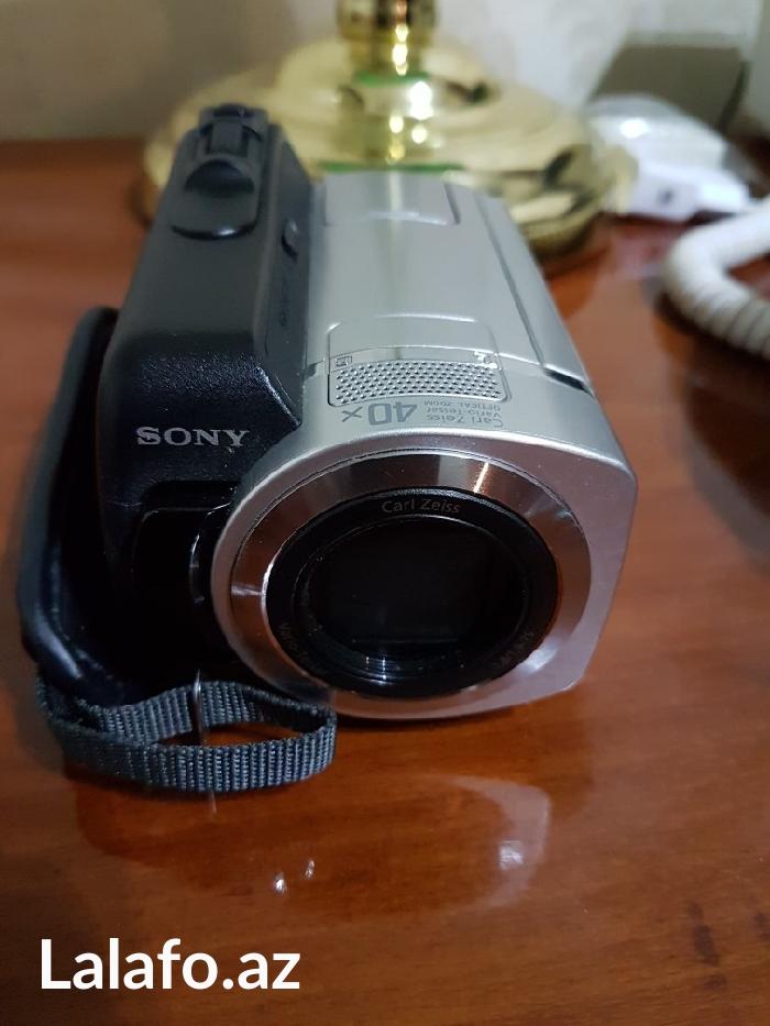 Bakı şəhərində Video kanera sony  dcr - sr 46 hybrid hdd 40 gb 40 x handcam
