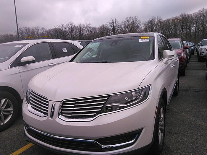 Lincoln MKX 2017. Photo 0
