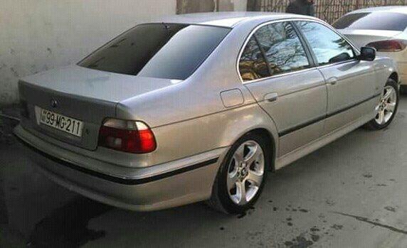 BMW 528 1997. Photo 5