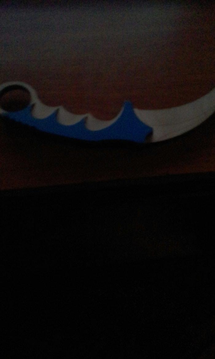 Нож керамбит не звотите а напешите почти басплатно. Photo 0