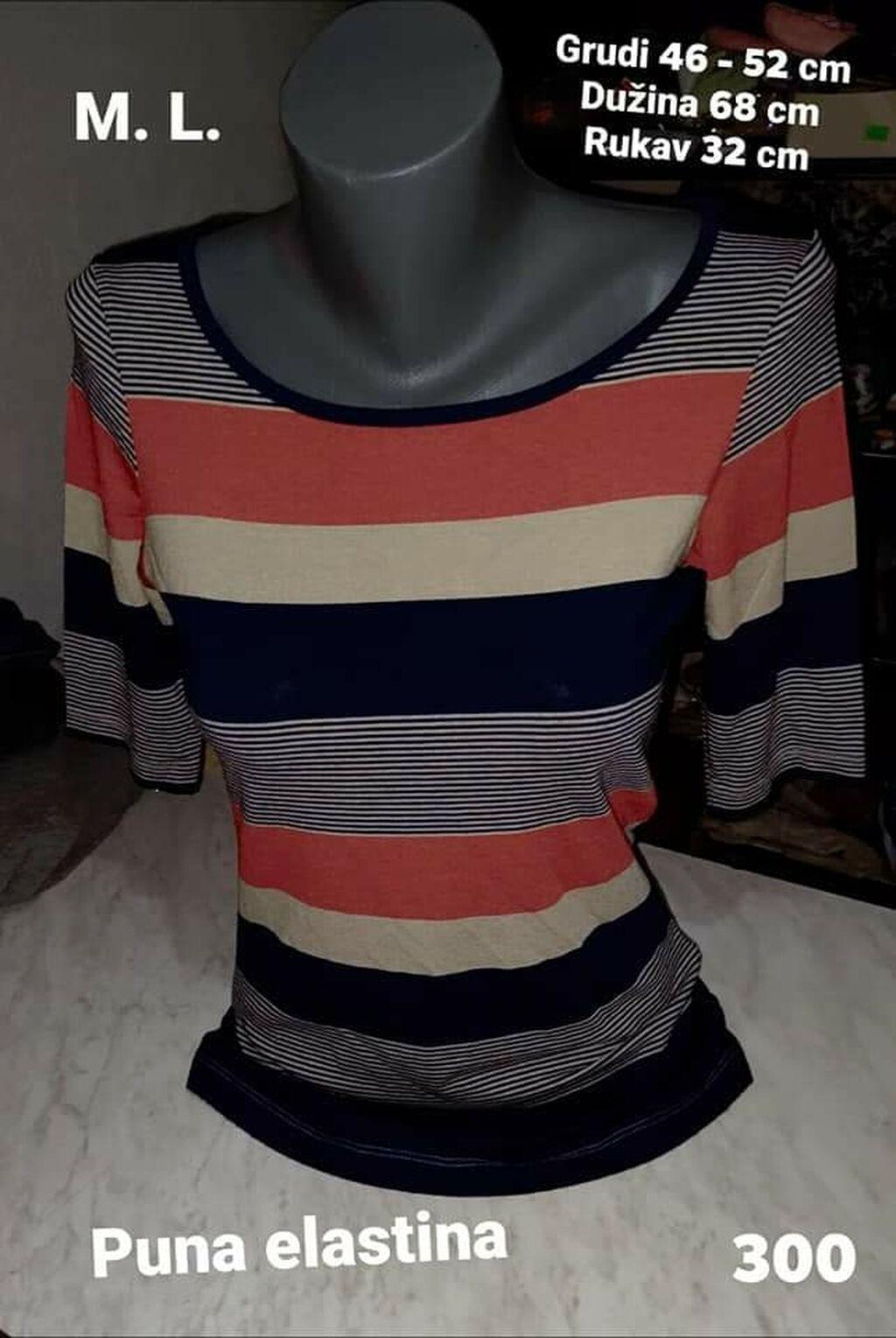 Ženske majice - Leskovac: Majica M. L. Puna elastina Kvalitetna