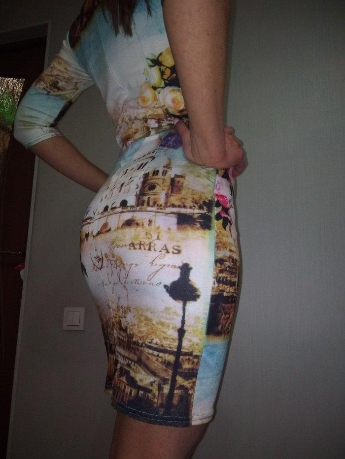 Осталось последнее Платье НОВОЕ трикотаж. размер 48. цена 300сом в Бишкек