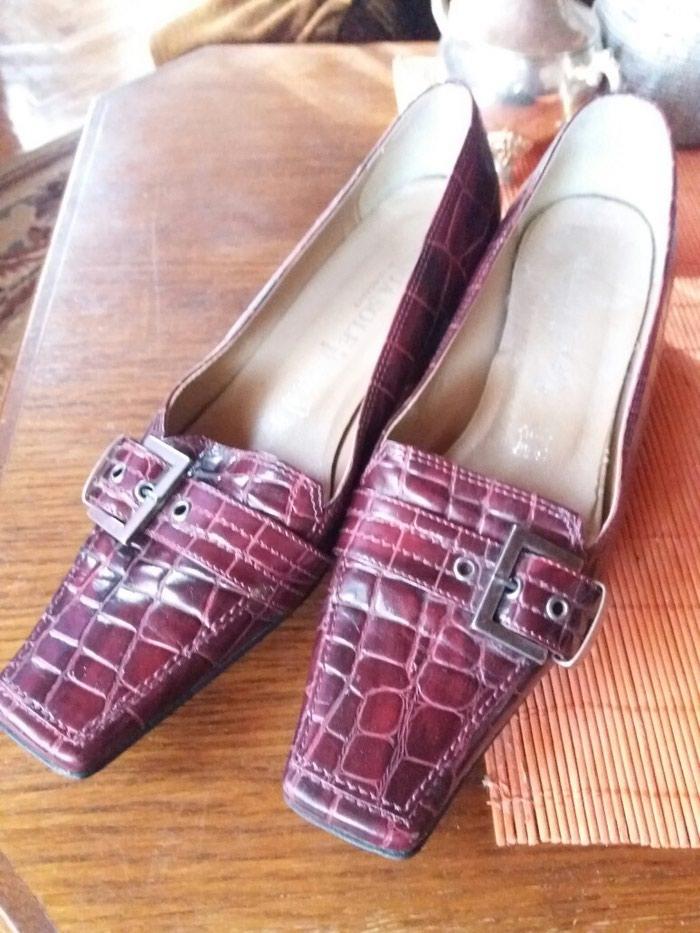 Cipele od extra kože italijanske samo jednom obuvene br.37. Photo 5