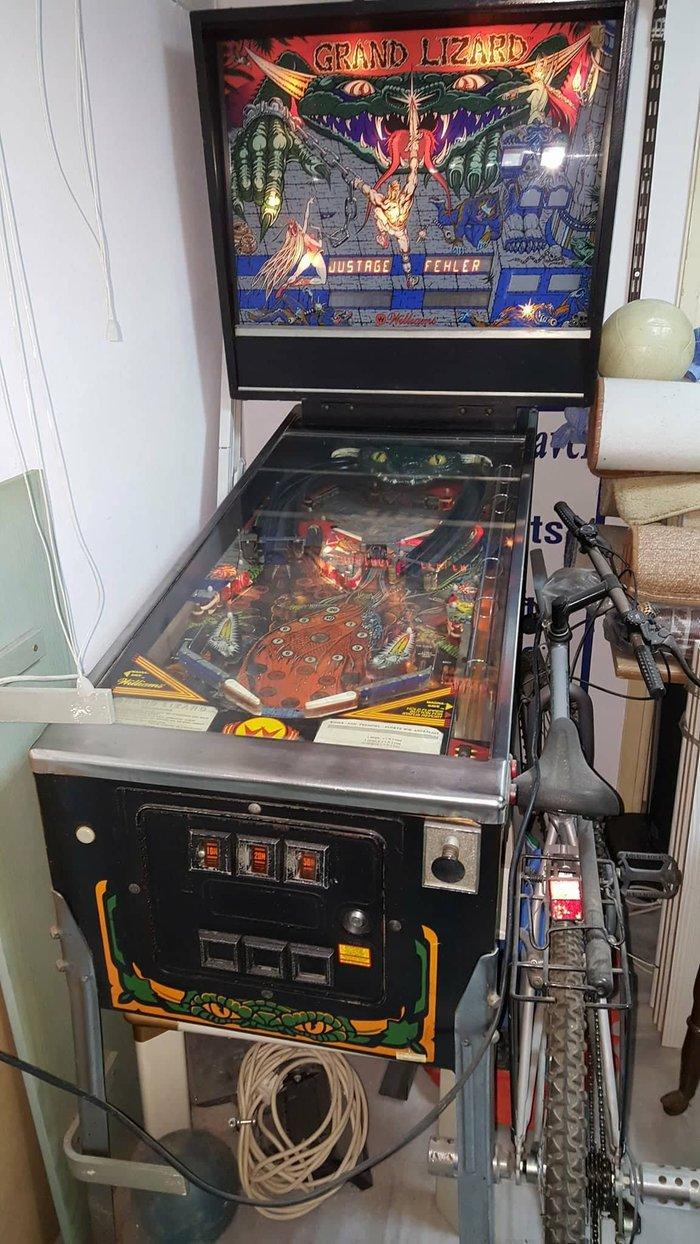"GRAND LIZARD Pinball Machine - Williams 1986 - ""It's a Jungle Out σε Νέα Σμύρνη"