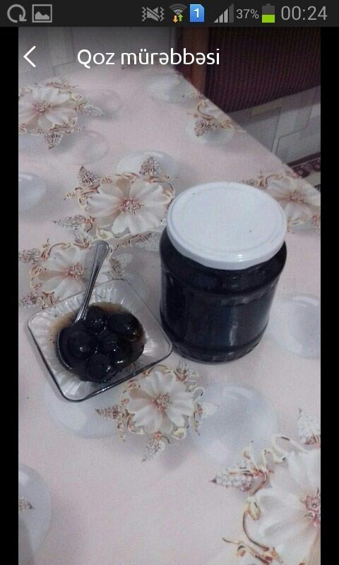 Ev şəraitində hazırlanmış qoz mürəbbəsi. Photo 0