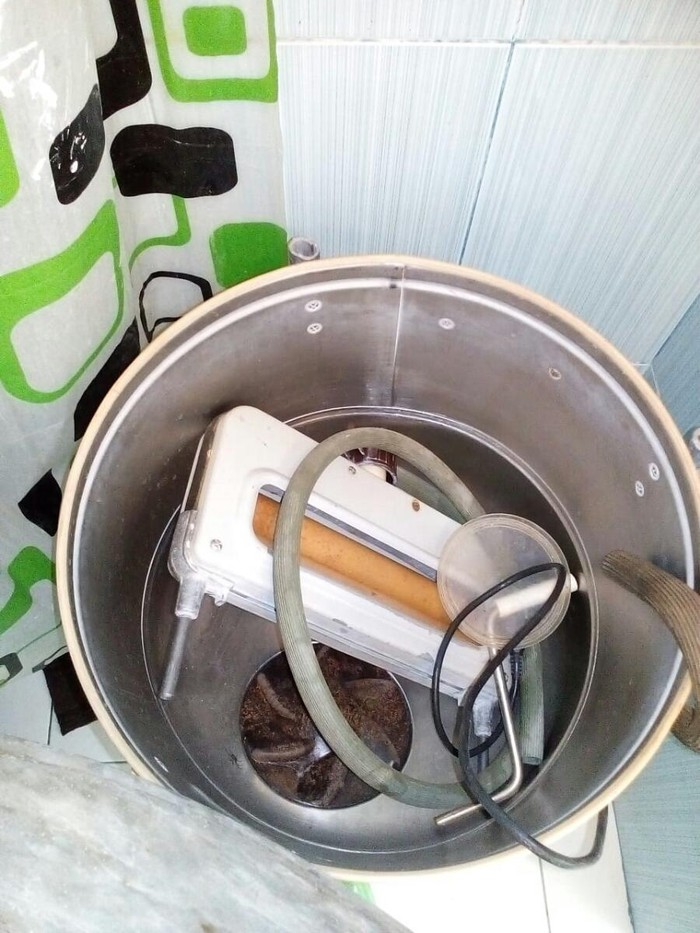 Yarımavtomat Washing Machine 10 kq.. Photo 1