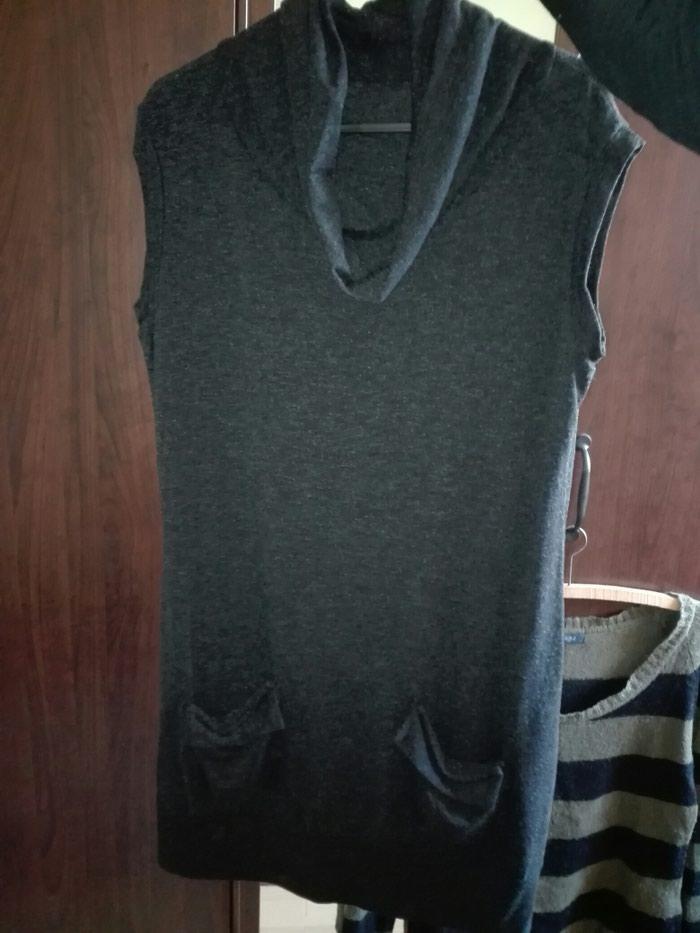 Μπλουζοφορεμα χρώμα μαύρο,νούμερο small. Photo 1