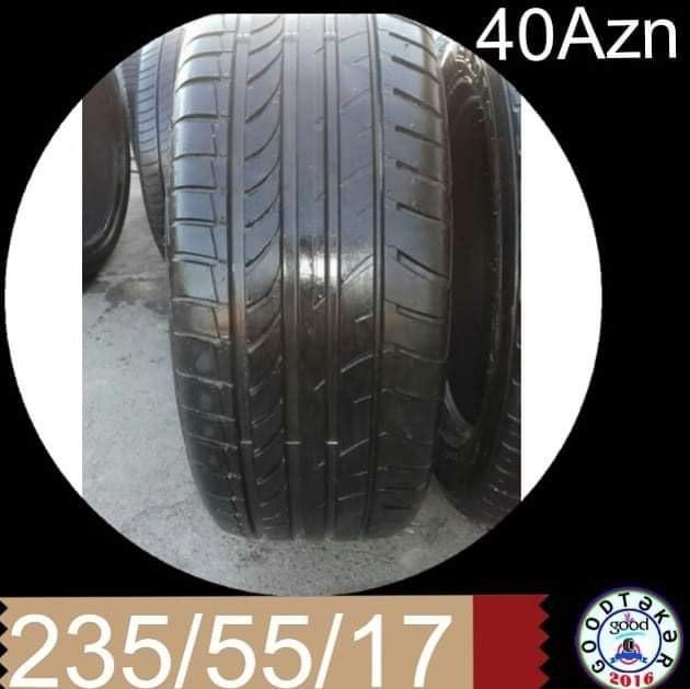 Bakı şəhərində Tək olan təkərlərin siyası 235/55/17 - 40Azn