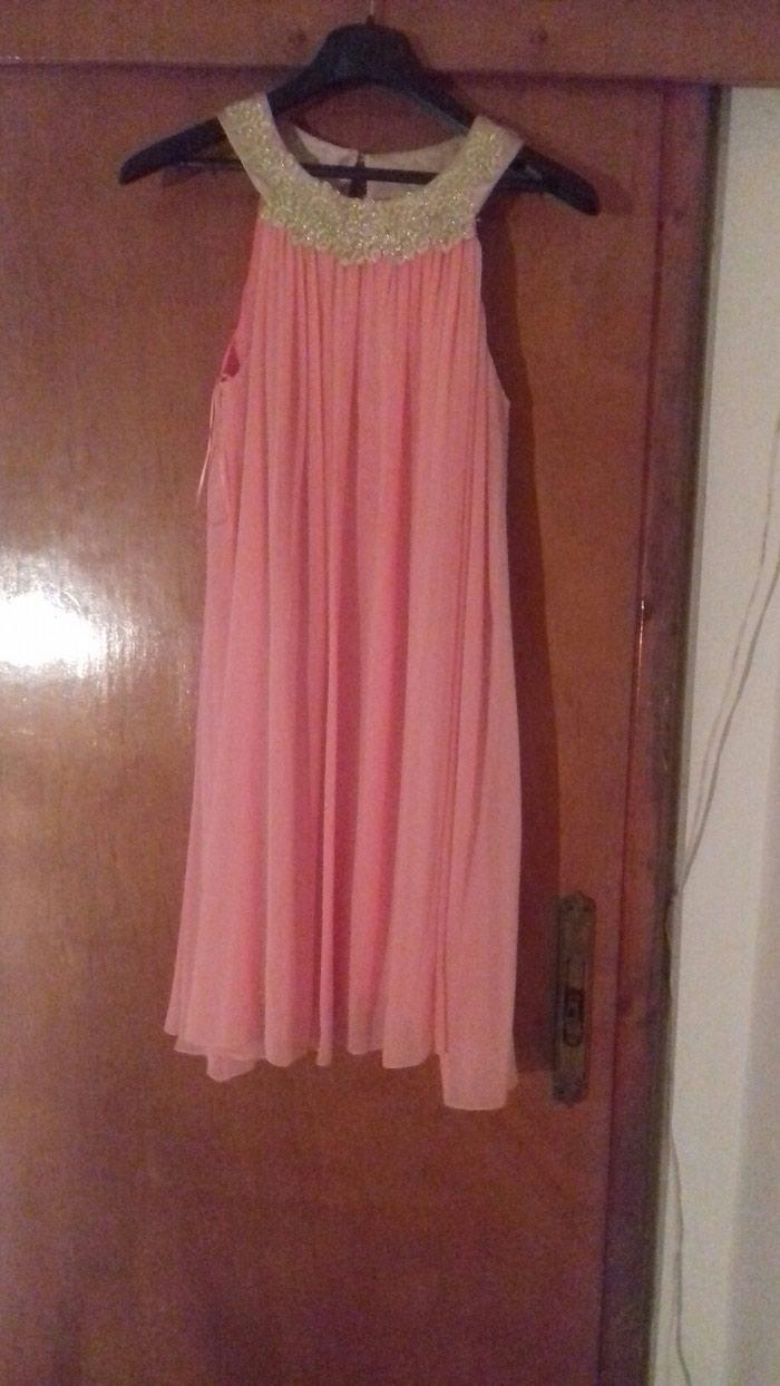 Φόρεμα ανοιχτό ροζ. medium, φορεμένο μια φορά. τιμη 70 ευρω σε Χίος