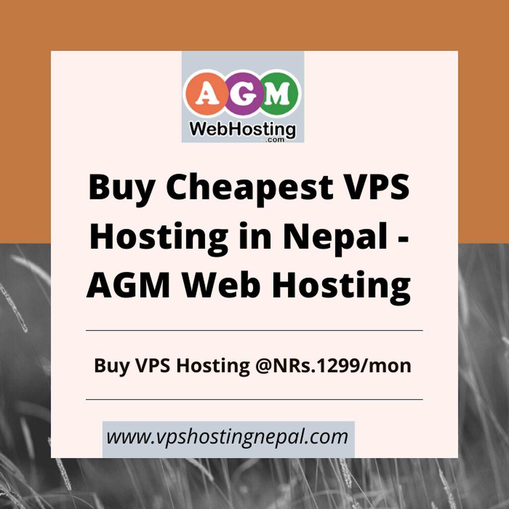 Buy Cheapest VPS Hosting in Nepal - AGM Web Hosting: