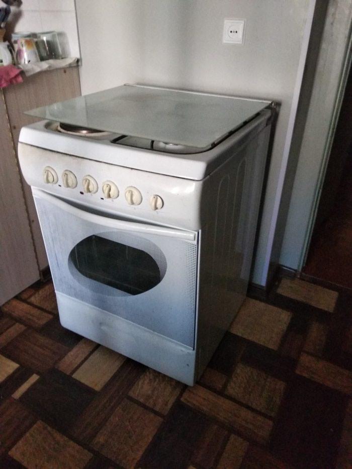 Электро-газовая плита. В хорошем рабочем состоянии!!! в Душанбе