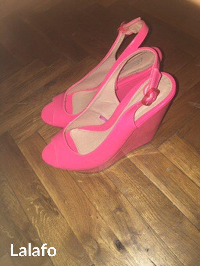 Tally Weijl platforme Sandale su potpuno nove,boja im je neon pink,na  - Zrenjanin