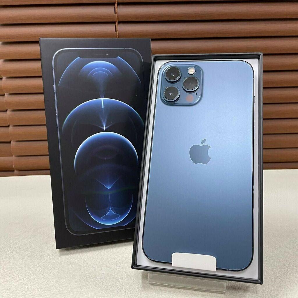 IPhone 12 Pro Max 512 GB Μπλε: IPhone 12 Pro Max 512 GB Μπλε