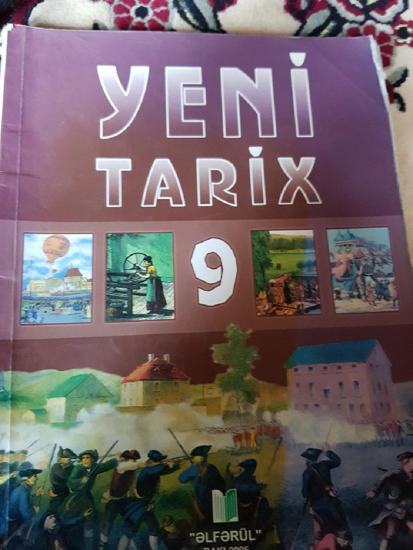 Yeni Tarix 9ci sinif əlfərül Baki-2005 Ünvan:Lənkəran