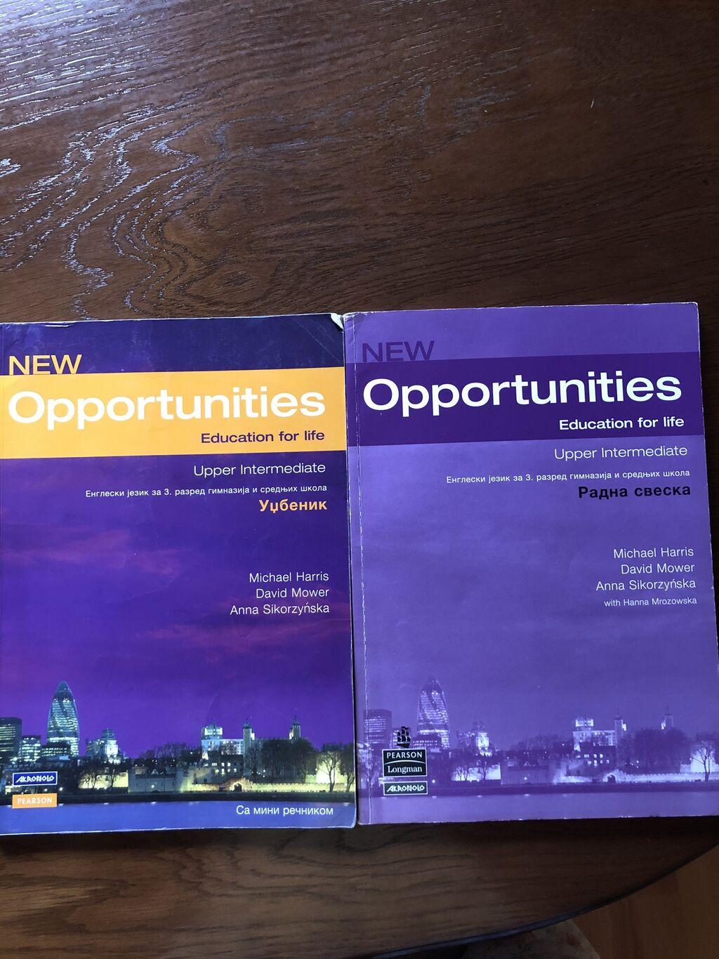 Knjige, časopisi, CD i DVD - Krusevac: Opportunities udzbenik  600 din. i radna sveska 500 dinara. Knjige su