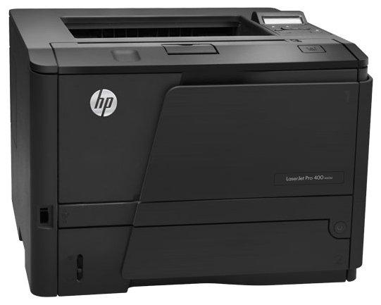 Bakı şəhərində HP Laserjet Pro 400 m401 duplex-surətli çap edən printer.