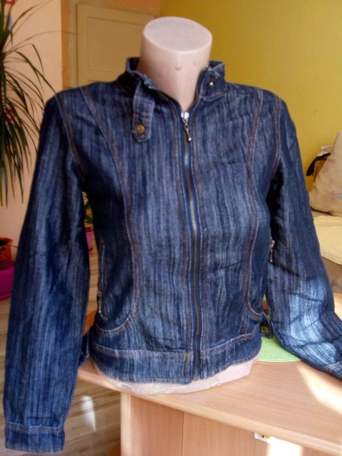Ženske jakne - Kraljevo: Teksas jaknica vel s.SAVRSENA.nenosena.ima elastina