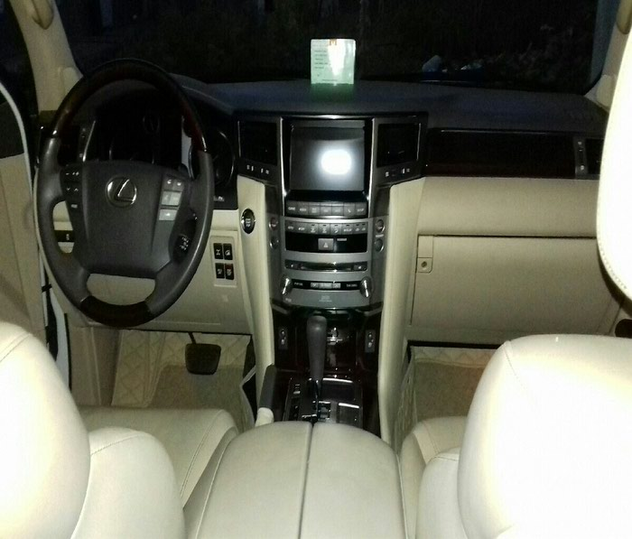Lexus LX 2014. Photo 1