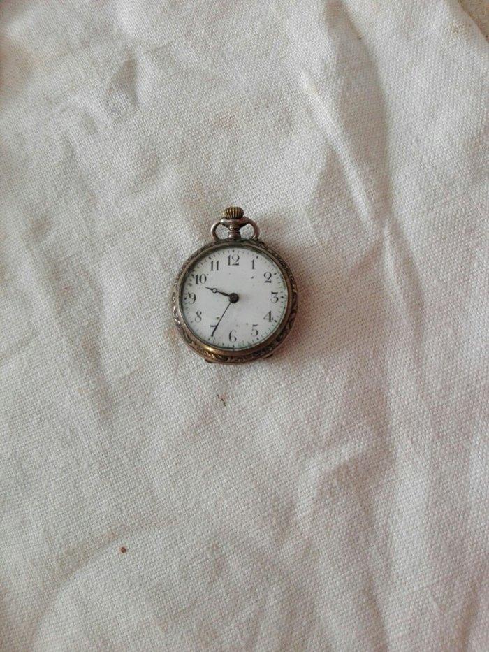 Συλλεκτικό αντίκα ρολόι τσέπης ασημένιο. Photo 3
