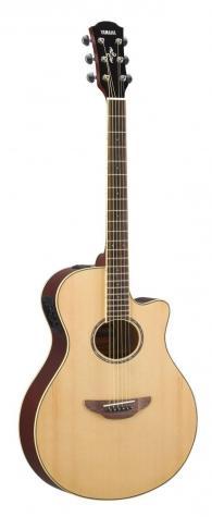 Гитара YAMAHA APX600 NATURAL – современная электроакустическая гитара от знаменитого японского производителя с уникальным пьезозвукоснимателем, разработанным и запатентованным Yamaha