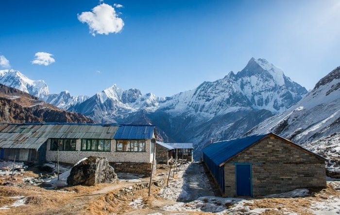 Annapurna base Camp Trek is only a right place to view all the social in Kathmandu