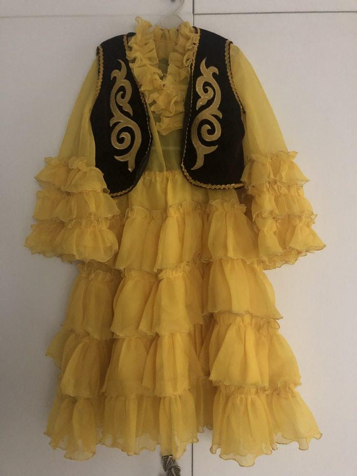 Детское национальное платье на 5-6 лет. В идеальном состоянии. в Бишкек b6dae3576c76d