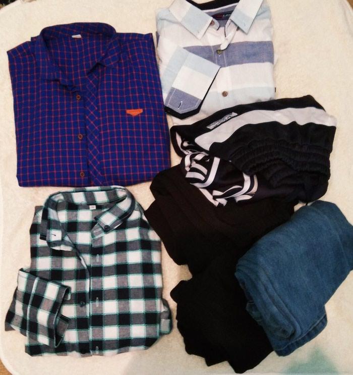d0222ac2a7f26a6 рубашка мужской за 2000 KGS в Бишкеке: Мужские рубашки на lalafo.kg