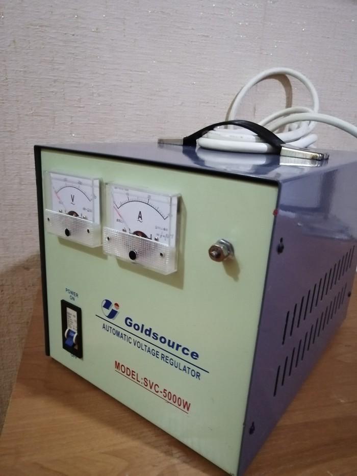 Продам стабилизатор напряжения 5000W.Турция.. Photo 2