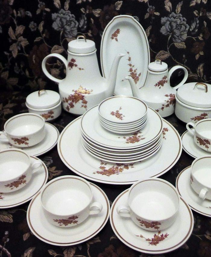 Чайный сервиз гдр, helena 6 персон 250 манат. Photo 6